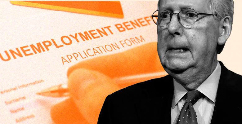 Mitch McConnell Vows to Block Federal Unemployment Aid Amid Ongoing Crisis