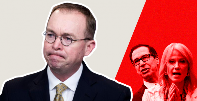 Trump Considering Firing Mick Mulvaney, Replacing Him With Kellyanne Conway or Steven Mnuchin