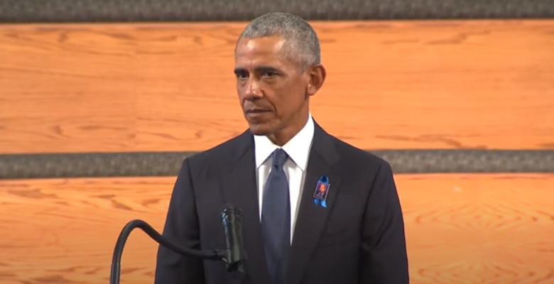Obama Calls to End Filibuster to Advance Voting Rights, DC Statehood in John Lewis Eulogy