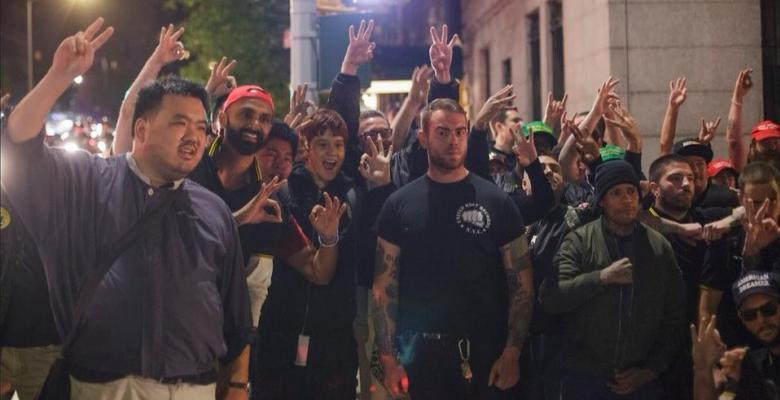 Videos Surface of Proud Boys Attacking Antifa Protesters in NYC