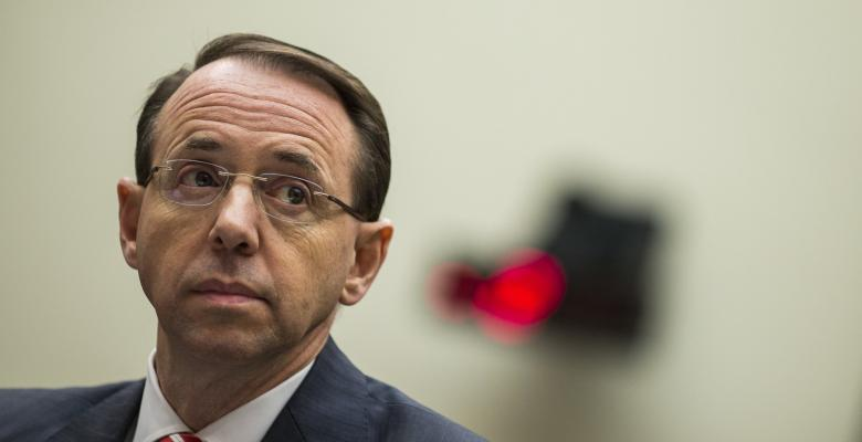 Rumors Surface of Rod Rosenstein's Firing/Resignation