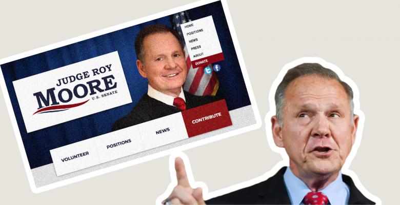 Alleged Child Predator Roy Moore Announces He Is Running for Senate Again