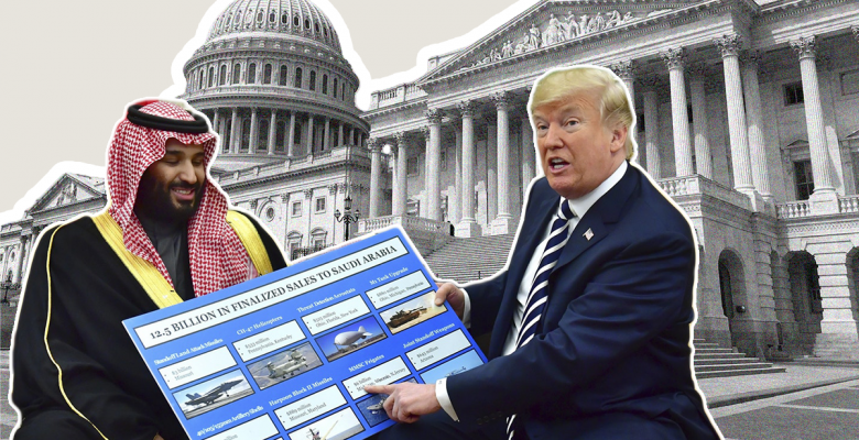 Republicans Team Up With Dems to Block Trump's Arm Sales to Saudi Arabia