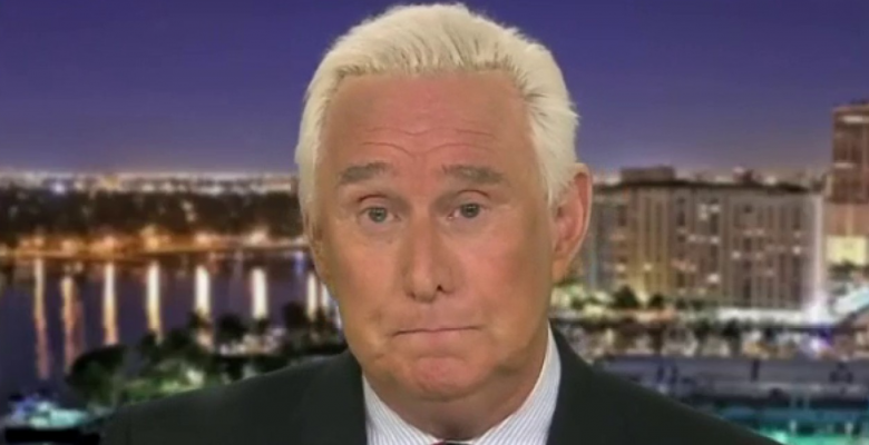 Trump Suggests He May Pardon Roger Stone Before He's Set to Start Prison Stint Next Week