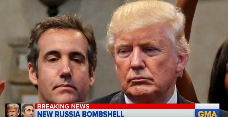 Trump Ordered Michael Cohen to Lie to Congress About Trump Tower Moscow Project: Report