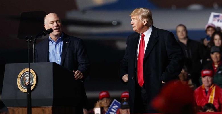 Trump Praises GOP Rep's Assault of Reporter, Even as Khashoggi Story Looms Large