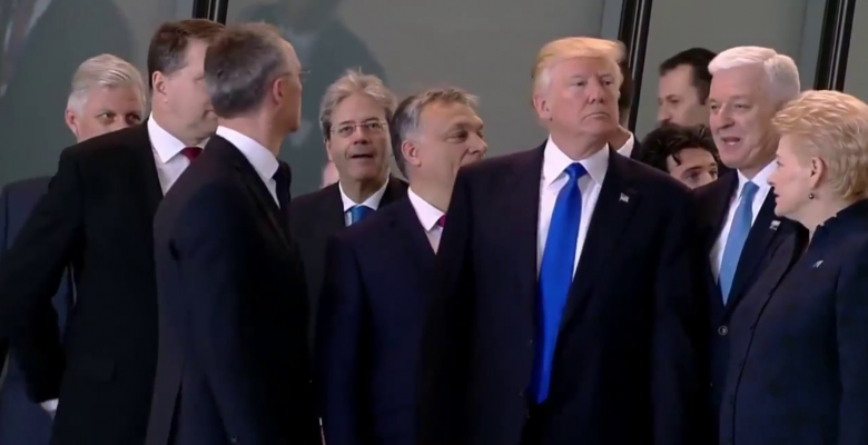 Trump Privately Repeatedly Wanted to Pull Out of NATO Last Year: New York Times