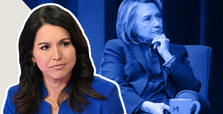 Tulsi Gabbard Rips Hillary as 'Queen of Warmongers' for Accusing Her of Being a Russian Asset