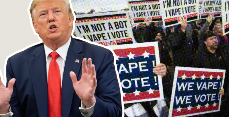 Trump Backs Off Ban on Flavored E-Cigarettes Over Fears That He Will Lose Voters
