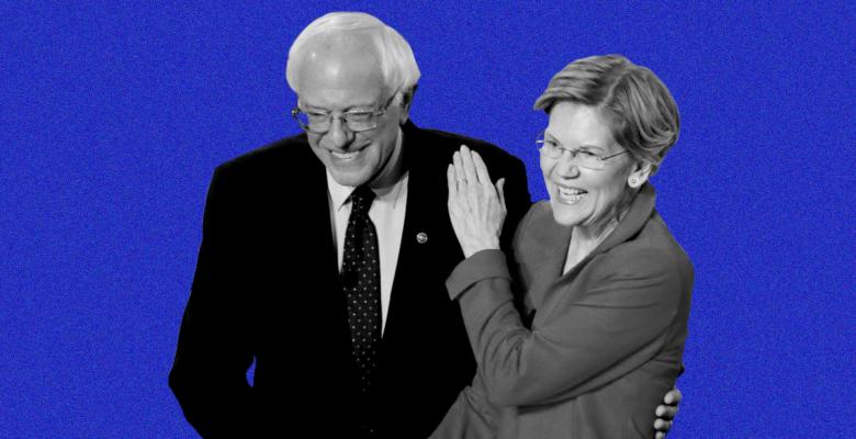 """Elizabeth Warren """"Disappointed"""" That Sanders is """"Sending His Volunteers Out to Trash Me"""""""