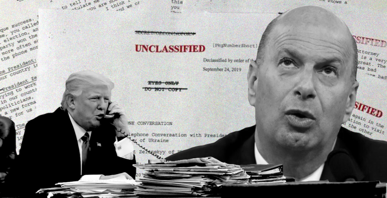 There Is No Record Of The 'No Quid Pro Quo' Call That Trump Claimed Exonerated Him