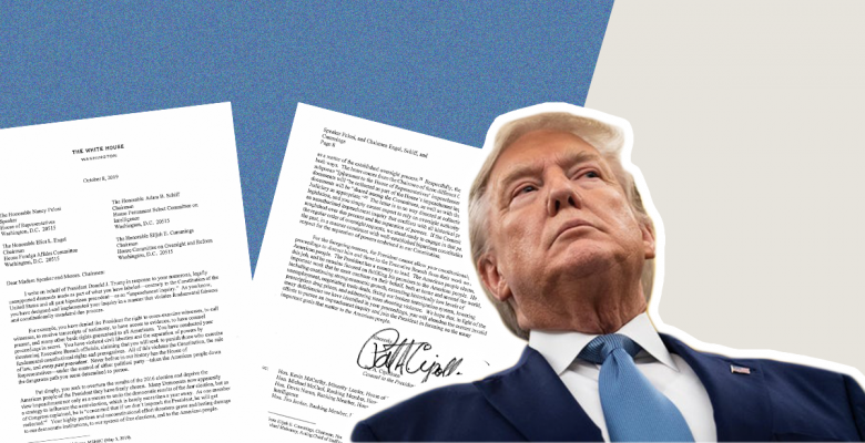 White House Refuses to Comply With Impeachment Inquiry in Letter Filled With False Claims