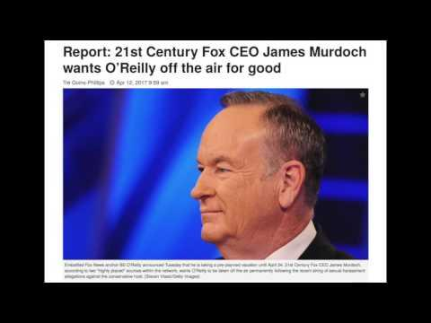 Bill O'Reilly Fired From Fox News