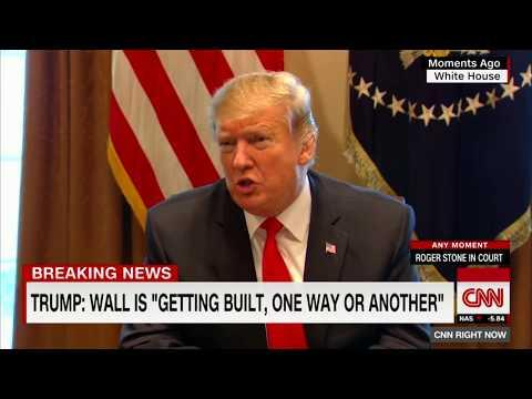 BREAKING: Trump Unveils the Human Wall