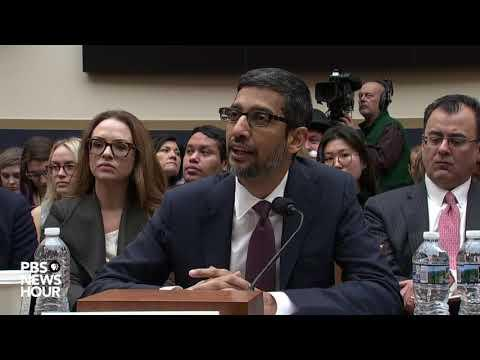 Who Is That Man Behind The Curtain? Google CEO Pichai answers.