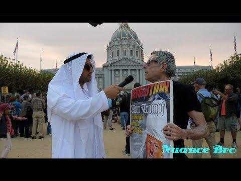 Nuance Bro: Trump Muslim Ban Protest in S.F.