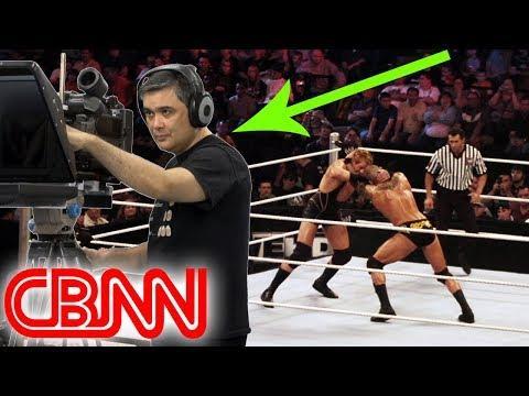 WWE Cameraman Loses His Mind