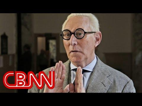 Video Shows FBI Arrest Roger Stone At His House