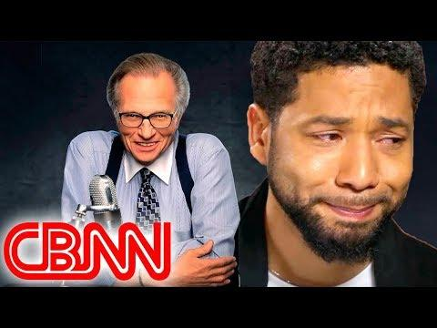 Jussie Smollett COMES CLEAN To Larry King