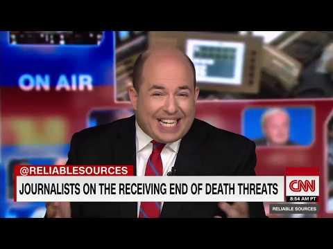 ANGRY Man Threatens To SHOOT Brian Stelter