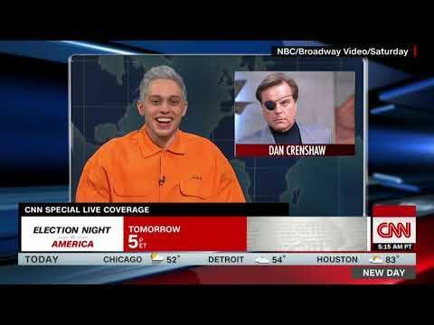Dan Crenshaw Responds to 'SNL' Pete Davidson's Mockery
