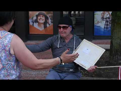 Gay Man For Trump Explains His Support | Straight Pride Parade Boston
