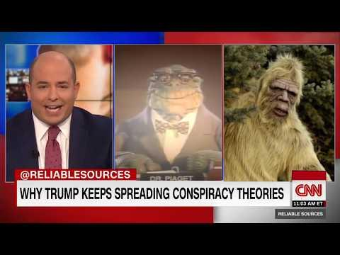 Brian Stelter DESTROYS Trump Conspiracy Theories