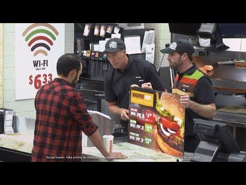 "Burger King ""Whopper Neutrality"" Commercial Goes Viral"