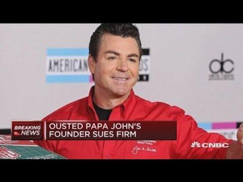WATCH: Papa John Is Suing Papa John's