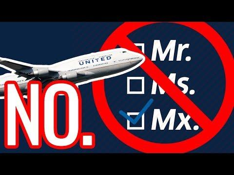 Triggered #64 | Why United Airlines Gender Neutral Booking Options Are Irrelevant