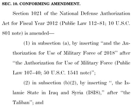 AUMF laws