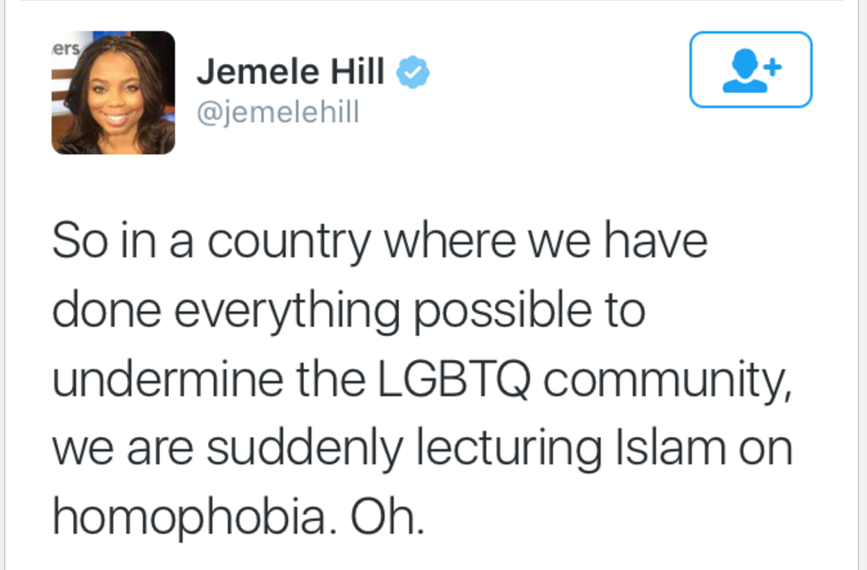 Jemele Hill Racist Tweet