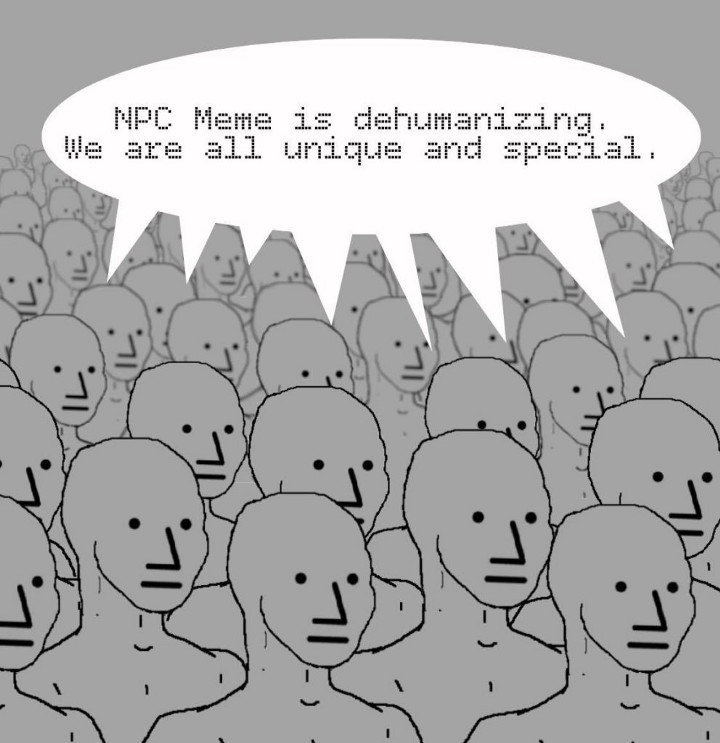 NPC Meme Accounts Banned on Twitter