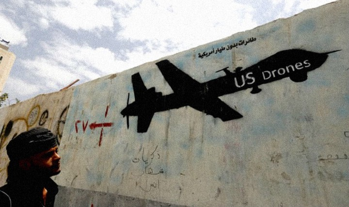 US Drone Strikes Syria