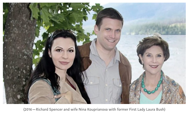 Richard Spencer and Nina Kouprianova