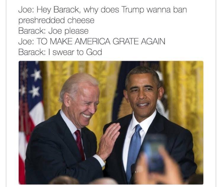 "Make America ""Grate"" Again"