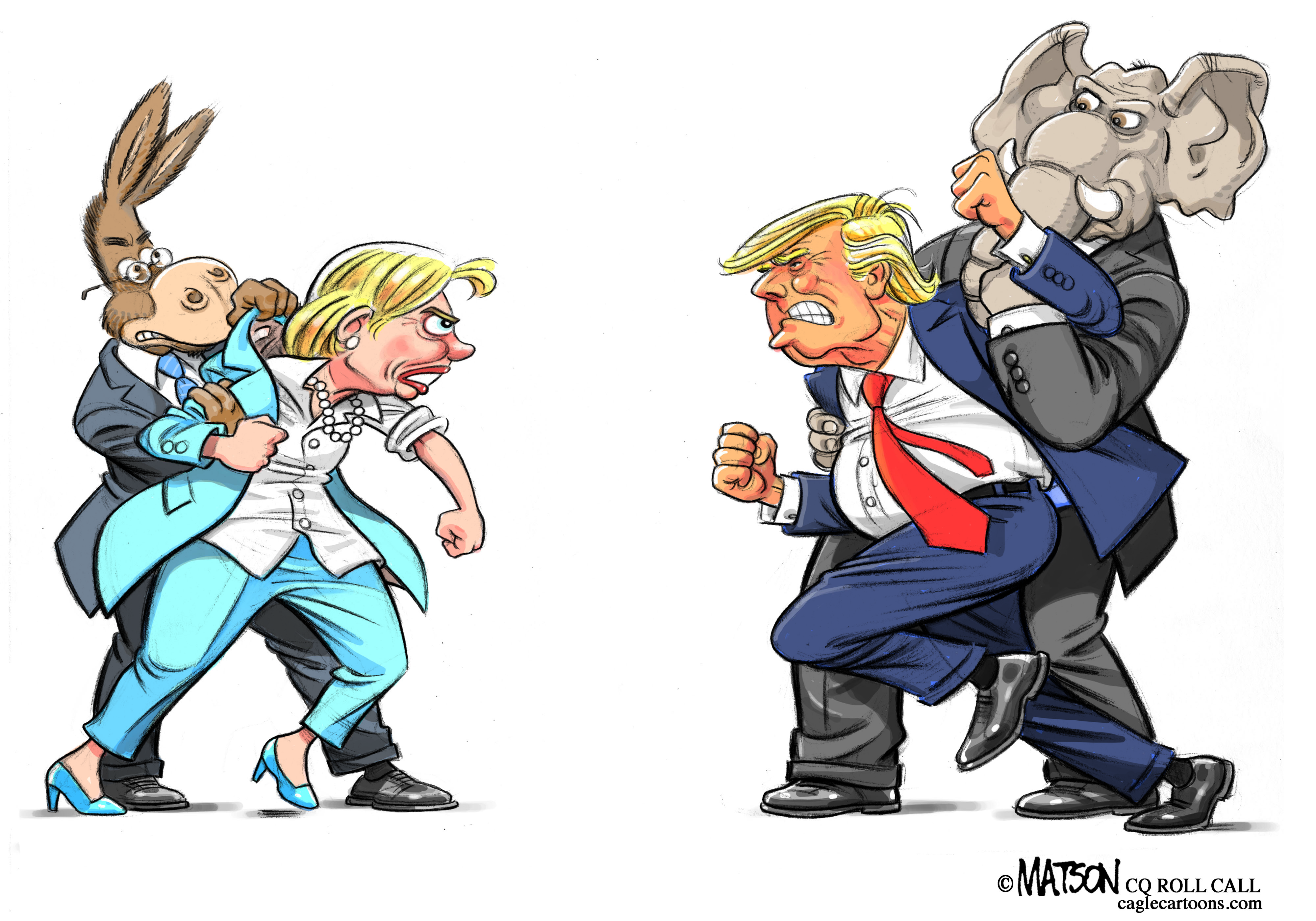 Clinton and Trump: Ready to Debate
