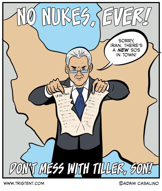 Tiller, Son!