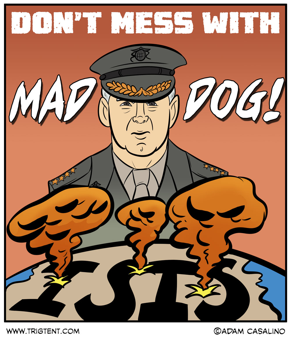 "Don't Mess With ""Mad Dog"""