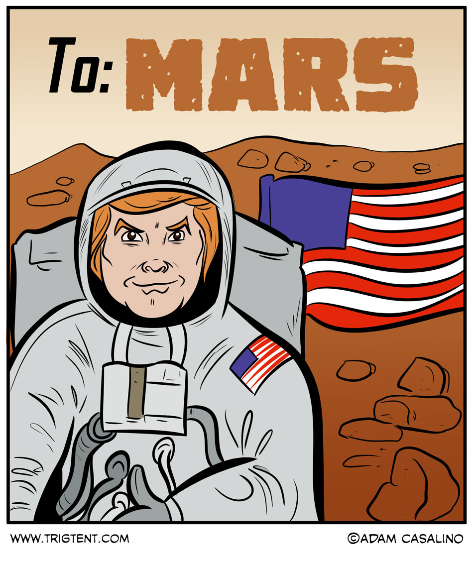 The Mars Landing?