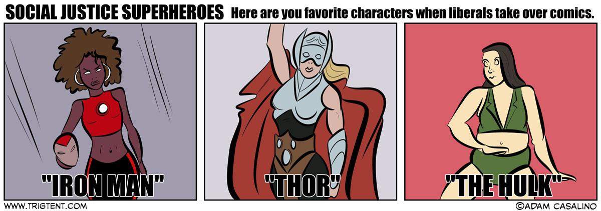 Social Justice Superheroes