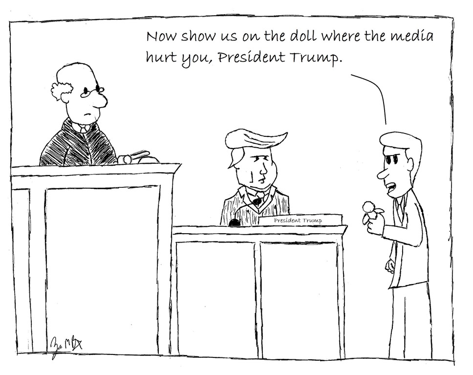 Show Us Where The Media Hurt You...