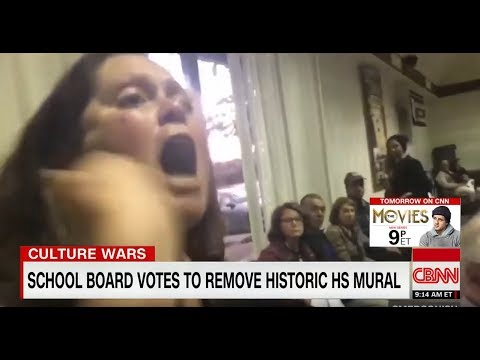 Screaming Match Erupts Over Vote To Remove Mural
