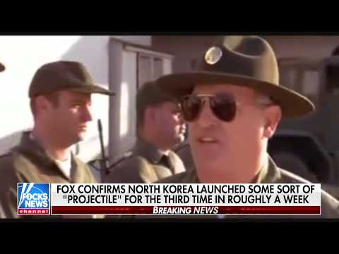 Focks News Confirms North Korea Launched 'Projectile'