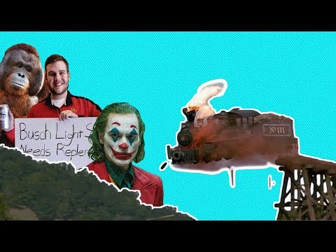 Off The Rails #8: Joker Controversy, Carson King, Monkey Feet