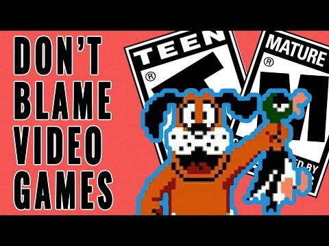 Stop Blaming Violence On Video Games
